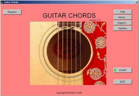 Guitar Chords screenshot